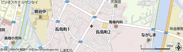 大分県佐伯市長島町周辺の地図