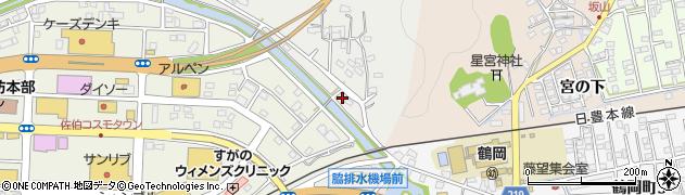 大分県佐伯市鶴望659周辺の地図