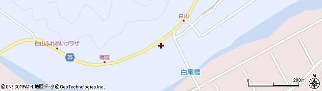 大分県佐伯市弥生大字山梨子260周辺の地図