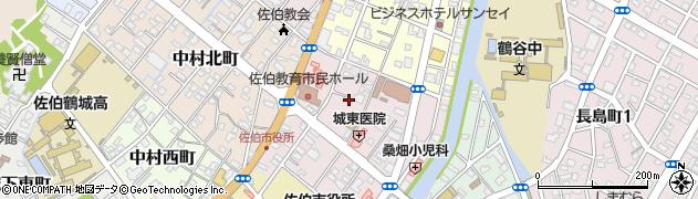 大分県佐伯市中村東町7周辺の地図