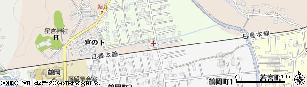 大分県佐伯市鶴望2319周辺の地図