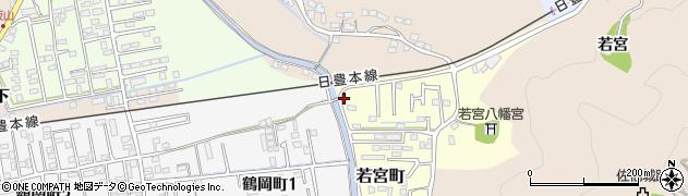 大分県佐伯市若宮町若宮区周辺の地図