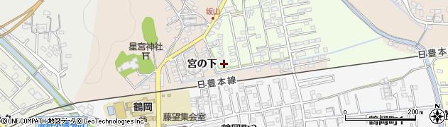 大分県佐伯市鶴望2582周辺の地図