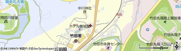 大分県竹田市拝田原162周辺の地図