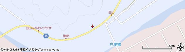 大分県佐伯市弥生大字山梨子294周辺の地図