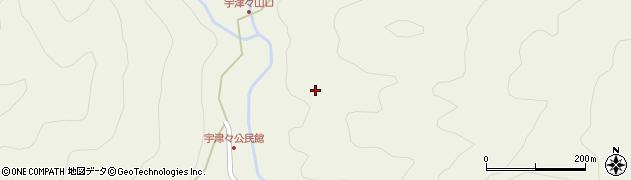 大分県佐伯市本匠大字宇津々山口周辺の地図