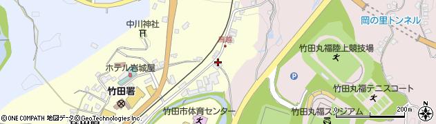 大分県竹田市拝田原81周辺の地図