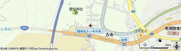 大分県佐伯市稲垣240周辺の地図