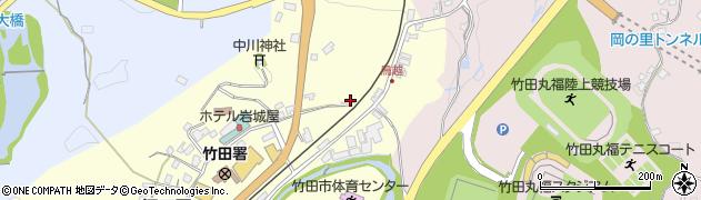 大分県竹田市拝田原168-3周辺の地図