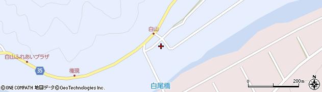 大分県佐伯市弥生大字山梨子301周辺の地図
