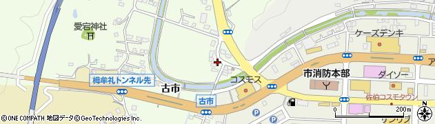 大分県佐伯市稲垣446周辺の地図