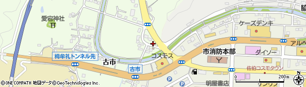 大分県佐伯市稲垣428周辺の地図