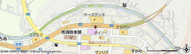 一般国道217号周辺の地図