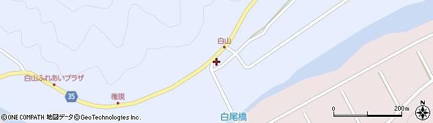 大分県佐伯市弥生大字山梨子368周辺の地図