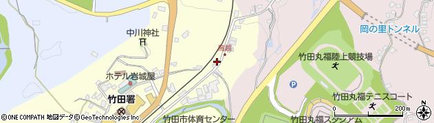 大分県竹田市拝田原82周辺の地図