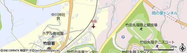大分県竹田市拝田原78周辺の地図