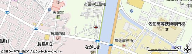 大分県佐伯市中江町1-16周辺の地図