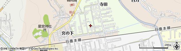 大分県佐伯市鶴望2593周辺の地図
