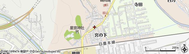大分県佐伯市鶴望2416周辺の地図