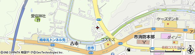 大分県佐伯市稲垣440周辺の地図
