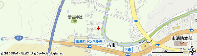 大分県佐伯市稲垣230周辺の地図