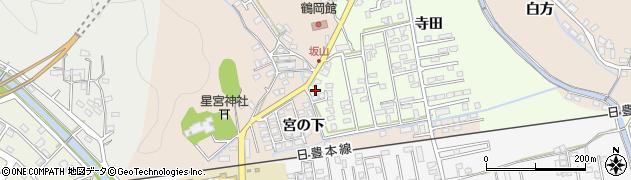 大分県佐伯市鶴望2567周辺の地図
