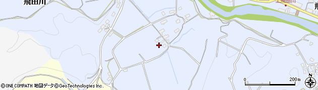 大分県竹田市飛田川924周辺の地図