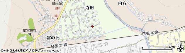 大分県佐伯市鶴望2300周辺の地図
