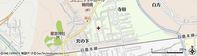 大分県佐伯市鶴望2570周辺の地図