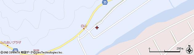 大分県佐伯市弥生大字山梨子343周辺の地図