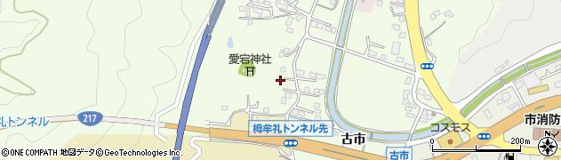 大分県佐伯市稲垣208周辺の地図