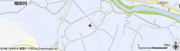 大分県竹田市飛田川934周辺の地図