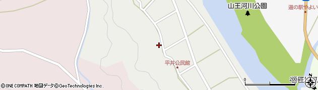 大分県佐伯市弥生大字平井297周辺の地図