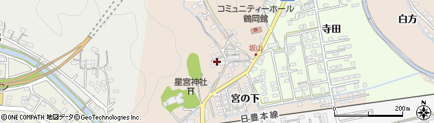 大分県佐伯市鶴望2441周辺の地図