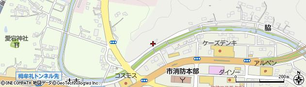 大分県佐伯市鶴望1121周辺の地図