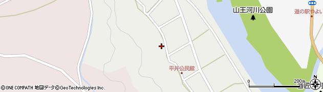 大分県佐伯市弥生大字平井298周辺の地図