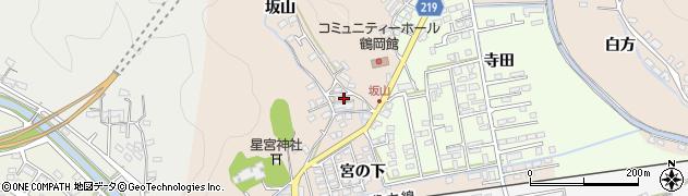 大分県佐伯市鶴望2529周辺の地図