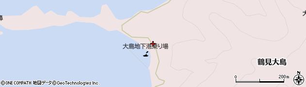 大分県佐伯市鶴見大字大島323周辺の地図