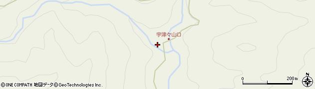 大分県佐伯市本匠大字宇津々803周辺の地図