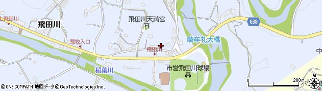 大分県竹田市飛田川2294周辺の地図