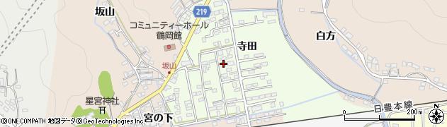 大分県佐伯市鶴望2603周辺の地図