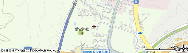大分県佐伯市稲垣198周辺の地図