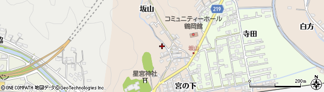 大分県佐伯市鶴望2449周辺の地図
