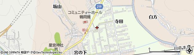 大分県佐伯市鶴望2557周辺の地図