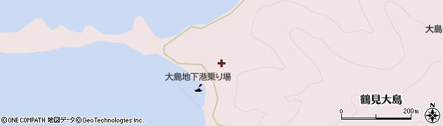 大分県佐伯市鶴見大字大島336周辺の地図