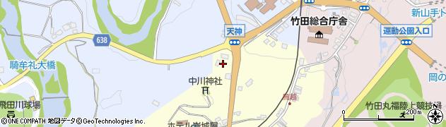 大分県竹田市拝田原127周辺の地図