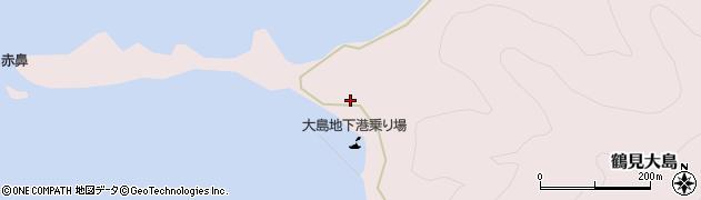 大分県佐伯市鶴見大字大島372周辺の地図