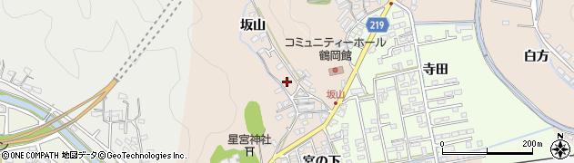 大分県佐伯市鶴望2518周辺の地図