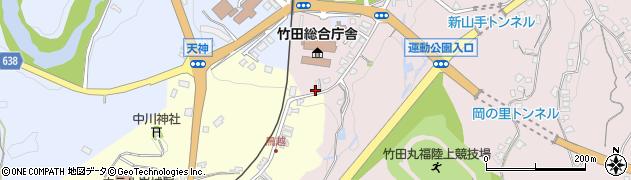 大分県竹田市竹田1501周辺の地図