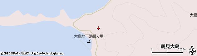 大分県佐伯市鶴見大字大島362周辺の地図